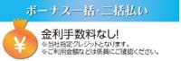 横浜グランドインテリアフェア:ボーナス一括・二括払い